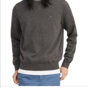Tommy Hilfiger Mens Signature SolidCrewNeckSweater